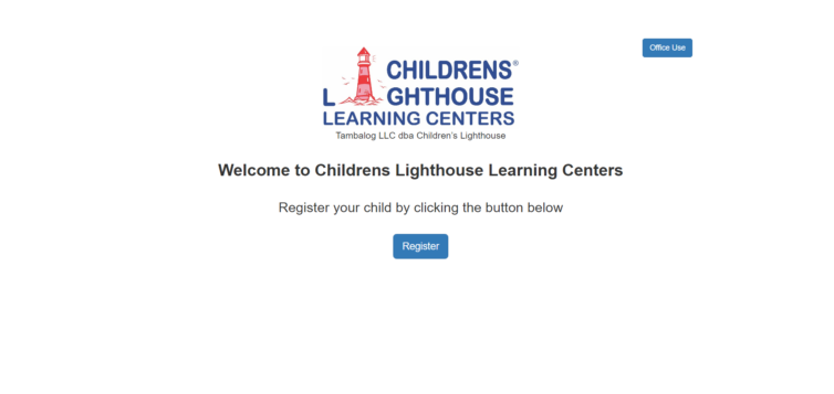 Children's Lighthouse Learning Center Portal
